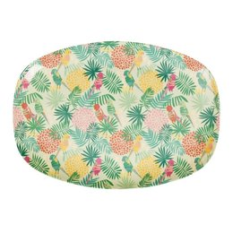 RICE Bord Melamine Tropical
