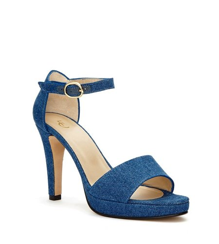 Fabienne Chapot Open Pump Dark Denim