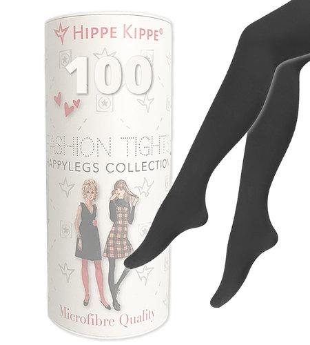 Hippe Kippe Fashion Tights 100 Denier Antracites