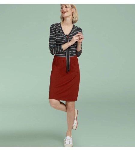 King Louie Davis Skirt Milano Crepe Rio Red