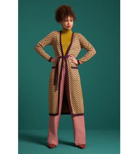 King Louie Cardi Long Indra Windsor Red