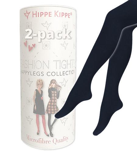 Hippe Kippe Fashion Tights 60 Denier 2-pack Marine Blue