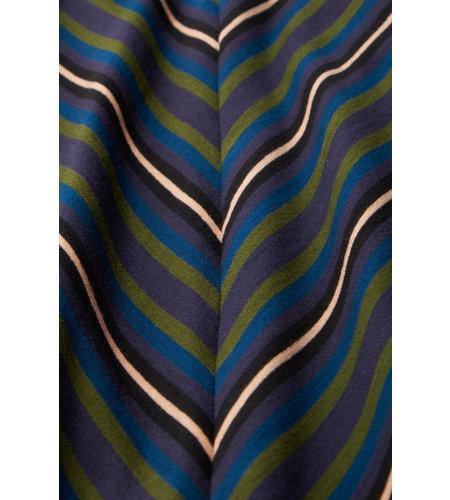King Louie Cecil Dress Elmore Stripe Black