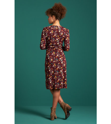 King Louie Cecil Dress Kansas Windsor Red