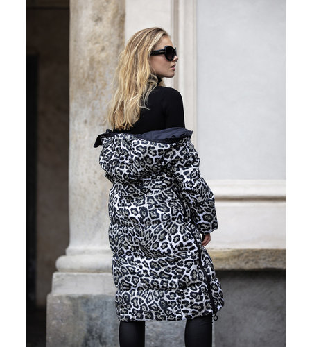 Goldbergh Gullfoss Coat Leopard