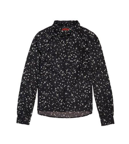 Superdry Elena Printed Shirt Night Sky Stars Black