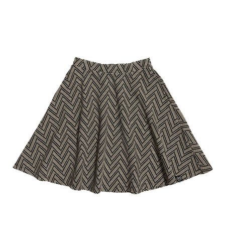 Superdry Midwest Rydell Skirt Cream Jacquard
