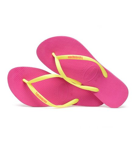 Havaianas Slim Logo Hollywood Rose