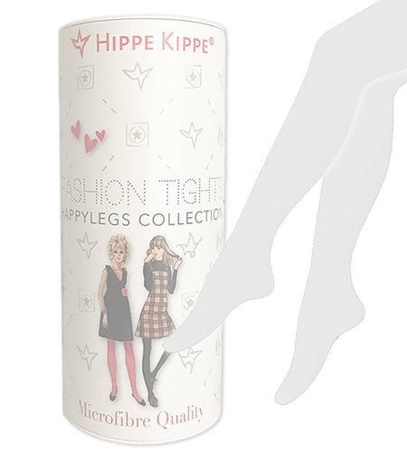 Hippe Kippe Fashion Tights 60 Denier White