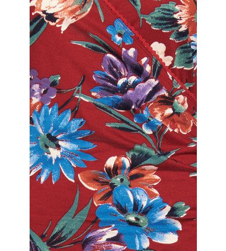 King Louie Cross Dress Bluebell True Red
