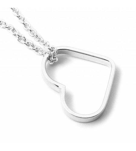 SeeMe Small Heart Bracelet Silver