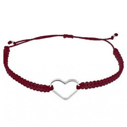 SeeMe Macrame Bracelet Small Heart