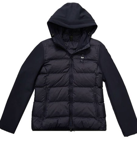 Blauer Matea Neoprene Down Jacket Blue