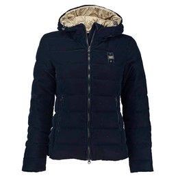 Blauer Down Jacket With Hood in Velvet