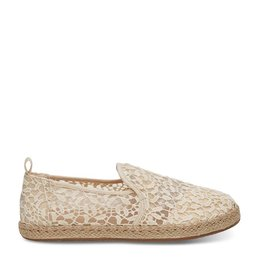 TOMS Alpargata Lace Leaves Rope