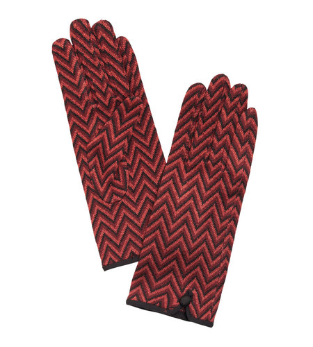 King Louie Glove Indra Beet Red