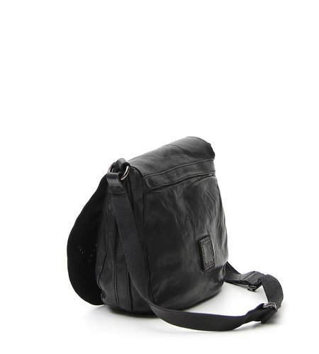 Campomaggi Saddlebag Stampa Black