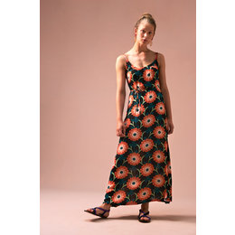 King Louie Allison Maxi Dress Arancino