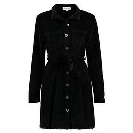 Bella Dahl Seamed Shirt Dress Black
