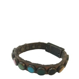 Campomaggi Bracelet Colorati Grigio Perla