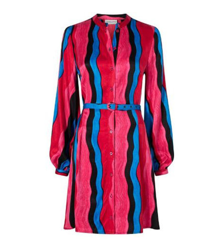 Fabienne Chapot Celine Josie Dress Deep red