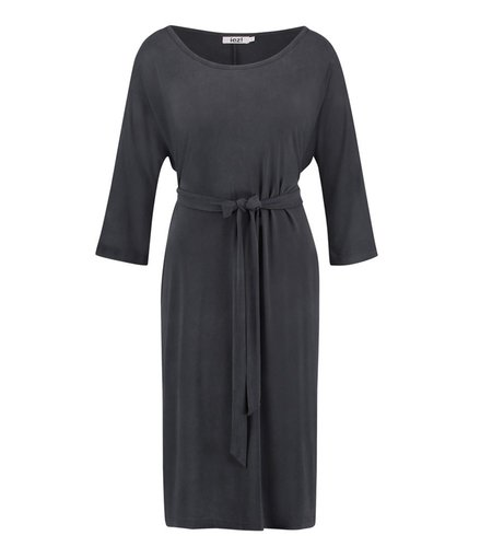 IEZ! Dress Long Modal Dark Grey