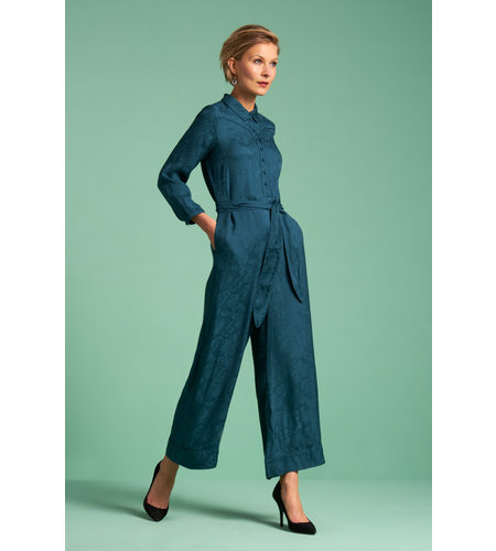 King Louie Lana Jumpsuit Paradis Dragonfly Green