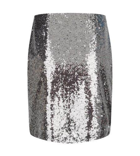 Fabienne Chapot Sequin Skirt Silver
