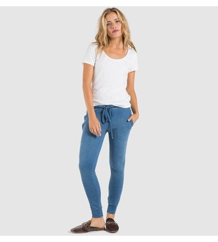 Bella Dahl Side Stripe Skinny Sweat Silver Star Wash