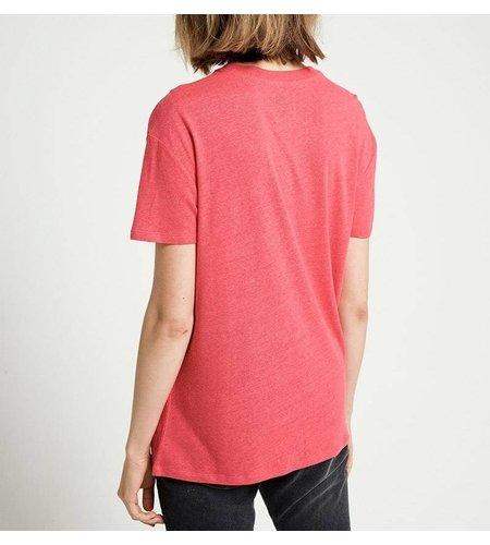 Zoe Karssen Romantix T-Shirt Tomato Optical White