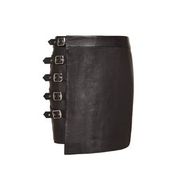 Zoe Karssen Buckles Mini Skirt