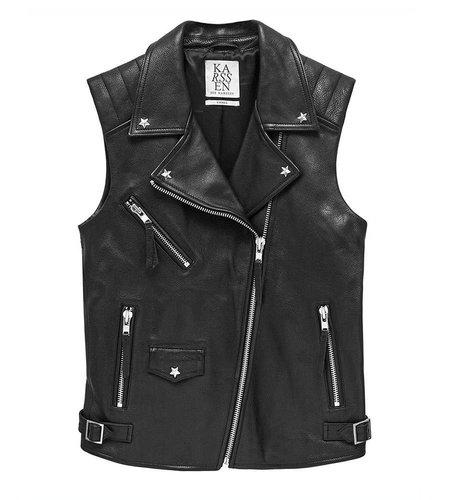 Zoe Karssen Magic Leather Jacket Moonless Night