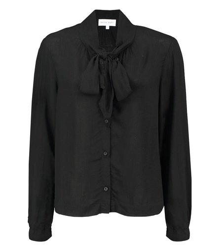 Bella Dahl Shirt Tail Button Down Black