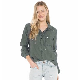 Bella Dahl Pocket Front Shirt