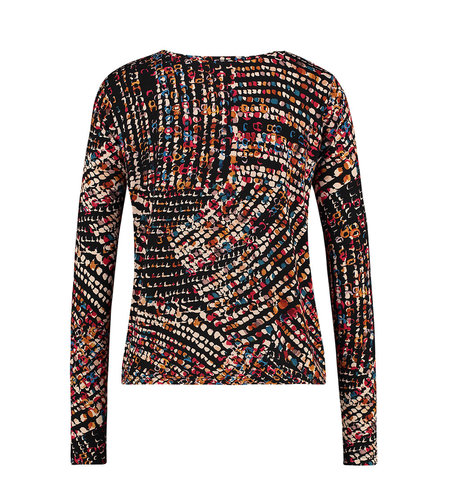IEZ! Shirt Jersey Print Multi