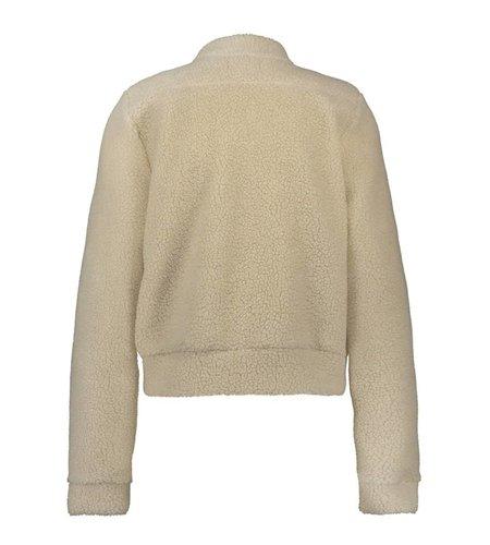 IEZ! Jacket Thick Fur Off-White