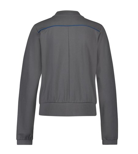 IEZ! Jacket Bomber French Knit Grey