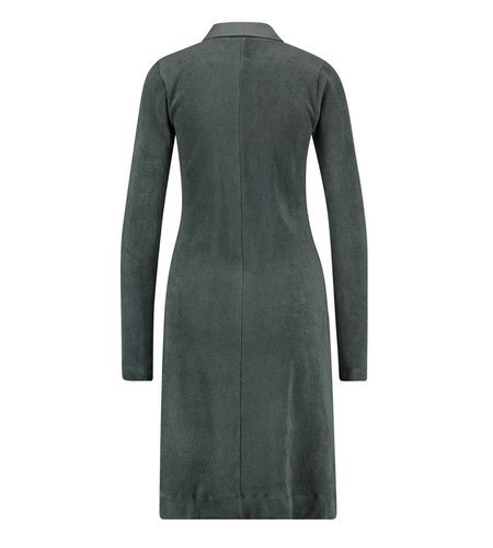 IEZ! Dress Terry Zipper Grey