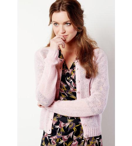 Le Pep Cardigan Bette Pink Mist
