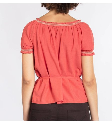 Blutsgeschwister Pennys Blouse Lisas Red Passion