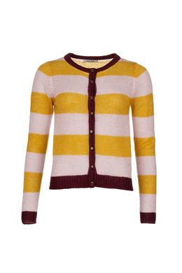 Le Pep Cardigan Bridget Stripe