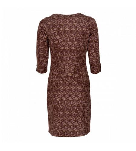 Le Pep Dress Babeau Graphic Wine