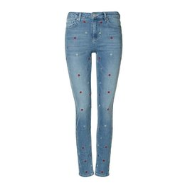 Zoe Karssen All Over Heart Embroidery Skinny