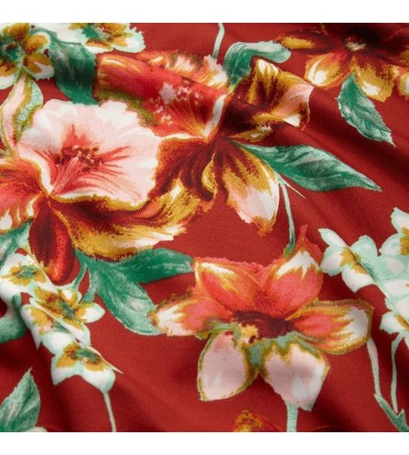 King Louie Allison Dress Magnolia Sienna Red