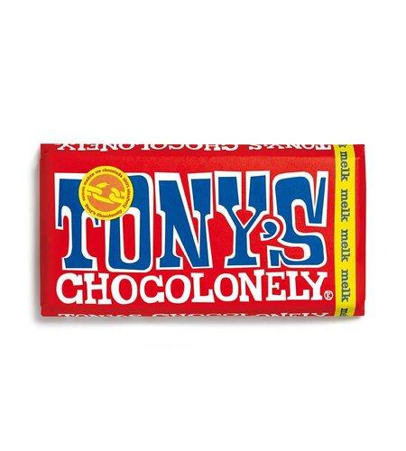 Tony's Chocolonely Melk Chocolade 180 gram