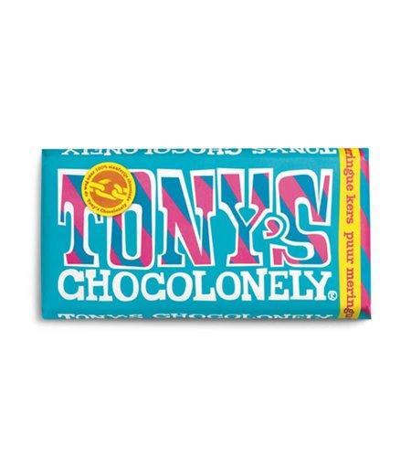 Tony's Chocolonely Puur Meringue Kers 180 gram