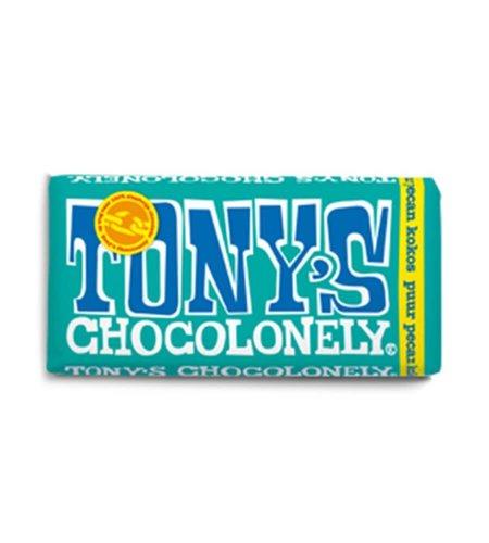 Tony's Chocolonely Puur Pecan Kokos 180 gram