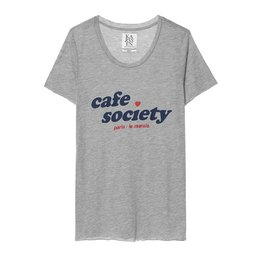 Zoe Karssen Cafe Society Loose Fit T-Shirt