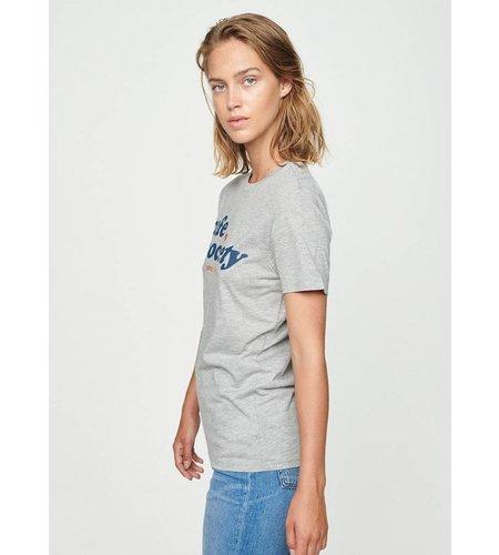 Zoe Karssen Cafe Society Loose Fit T-Shirt Grey Heather
