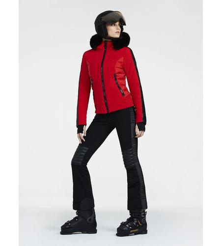 Goldbergh Kaja Jacket Fake Fox Fur Black